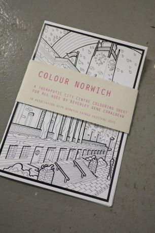Colour Norwich Sheet