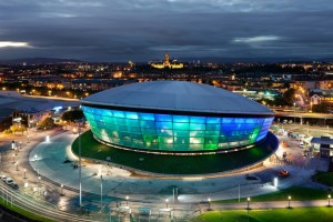 The SECC Hydro arena designed by Foster and Partners.
