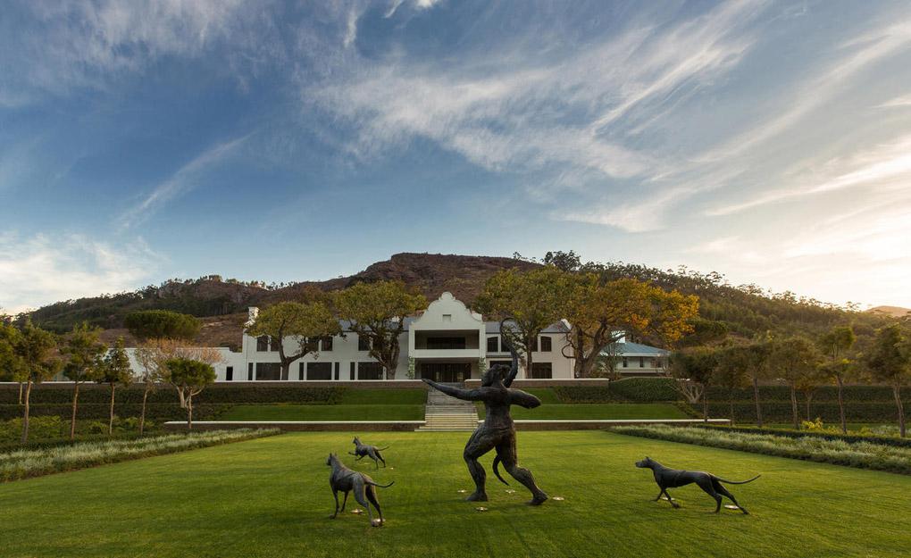 South Africa's Cape Winelands route - Leeu House