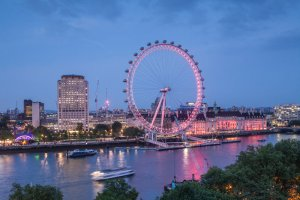 River Thames, Coca Cola London Eye, the south Bank of the River Thames. London c. Julian Elliott Photograpy