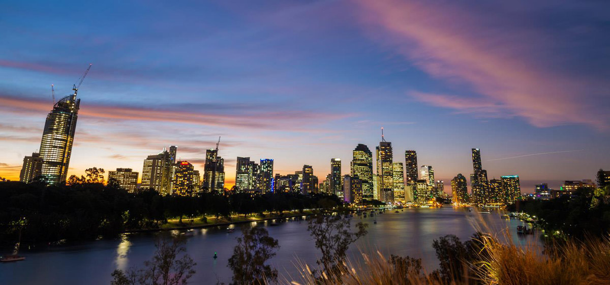 Brisbane, view, The Point