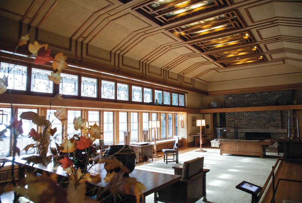 Frank Lloyd Wright room, New York