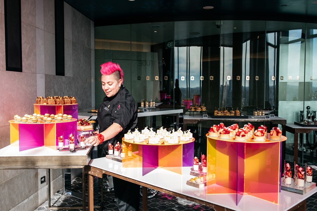Anna Polyviou, Blu Bar, High Tea, Shangri-La Sydney