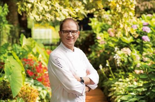 Banyan Tree Bangkok , Chef Rolf Fliegauf