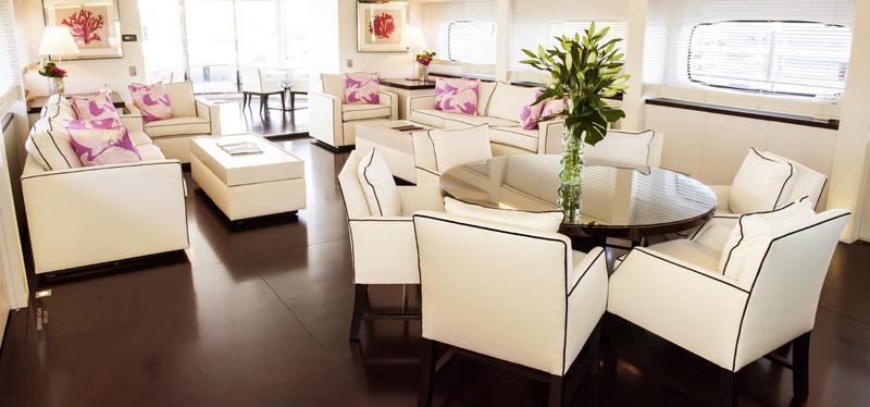 Infinity Pacific, Sydney Harbour, superyacht, luxury cruiser, Peter Kuruvita