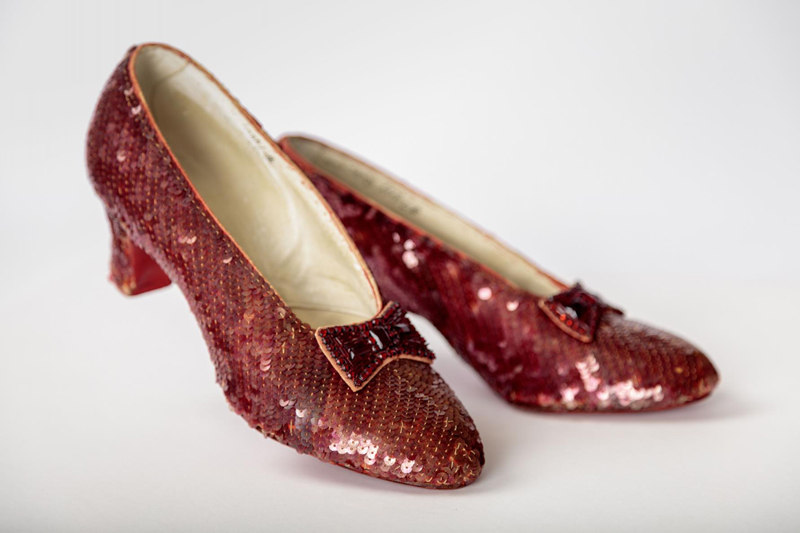 Red slippers, Wizard of Oz, Academy Museum, Love Beverly Hills, California, Los Angeles