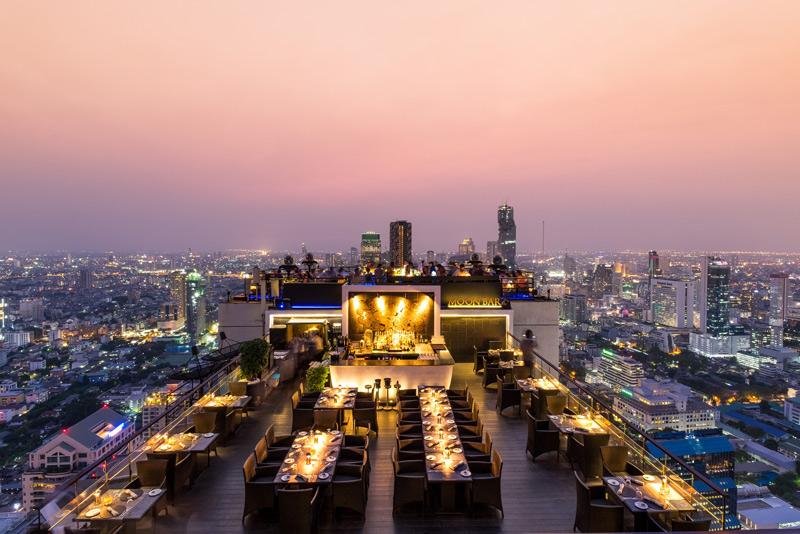 Vertigo Bangkok, Banyan Tree Bangkok, Bangkok hotels, Thailand, hug thailand