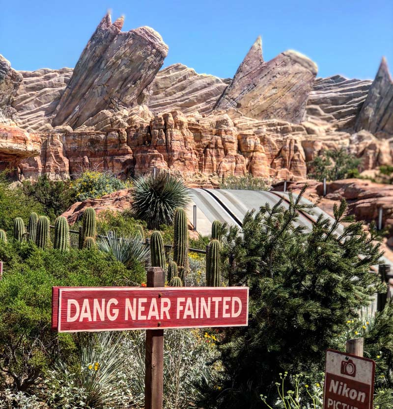 Disneyland Resort, California, Cars Land, Radiator Springs Racers, Mickey Mouse