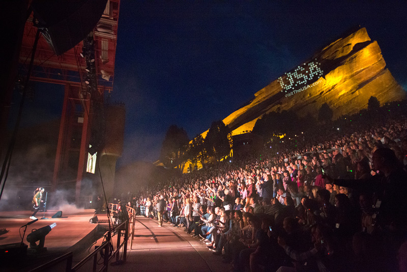 OneRepublic, Red Rocks Denver, Visit Denver, IPW