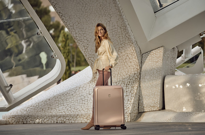 Victorinox, travel in style, luxe luggage, colour story capsule collection