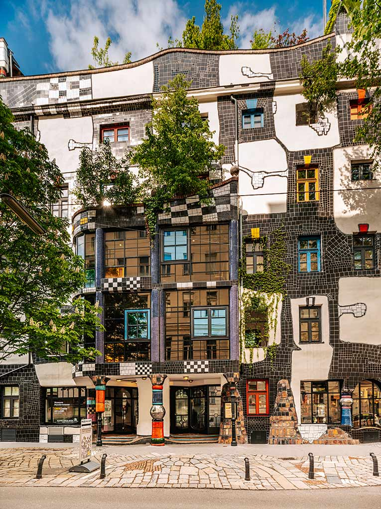 Hundertwasser, Vienna, art, architecture, travel