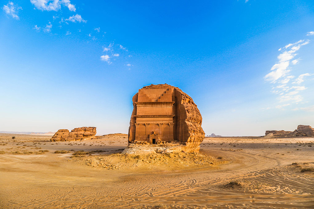 Jordan, Saudi Arabia, Arcadia Expeditions, Madain Saleh