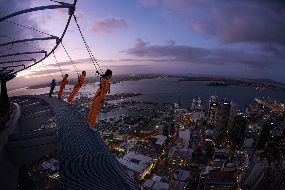 Auckland SkyWalk, Sky Tower, New Zealand