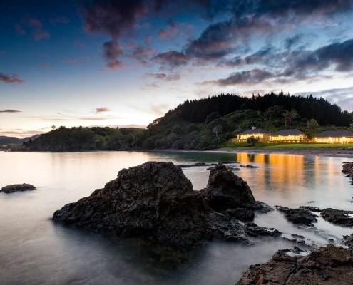 Helena Bay, luxury lodge, New Zealand