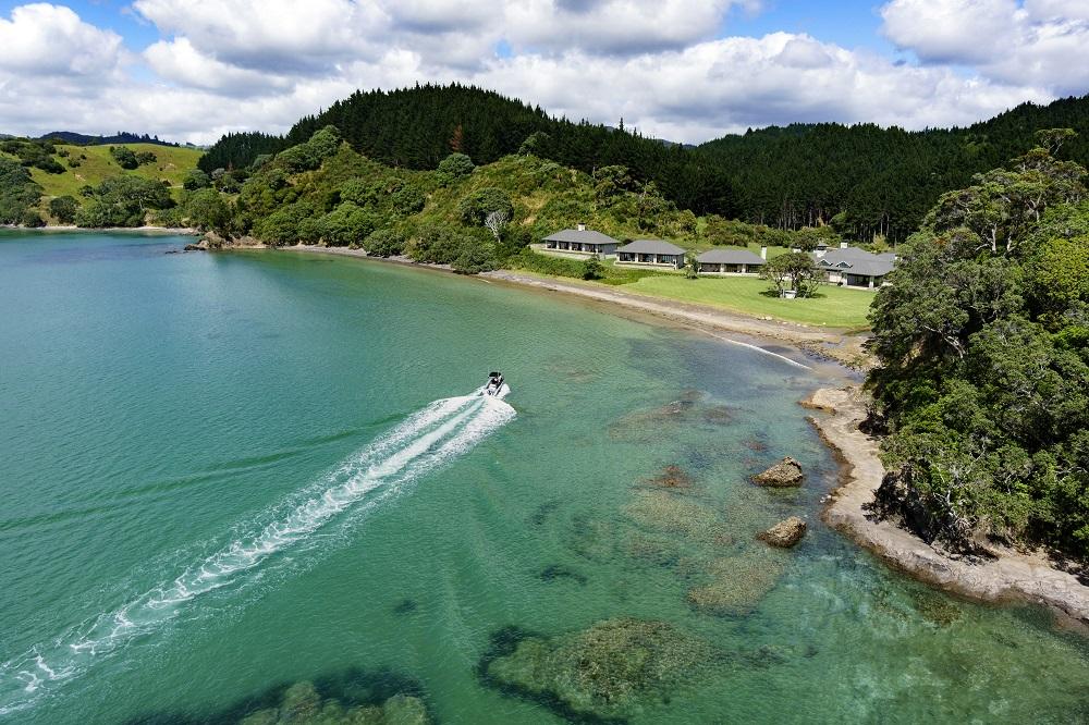 Helena Bay, New Zealand, lodges, luxury lodges