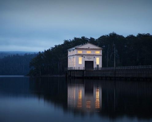 Pumphouse Point, luxury hotel Tasmania, Lake St Clair