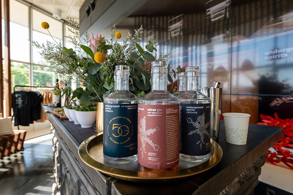 Visit Canberra, gins, spirits