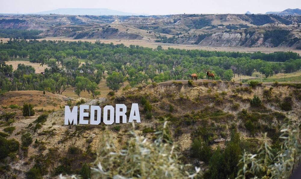 Medora, Badlands, North Dakota
