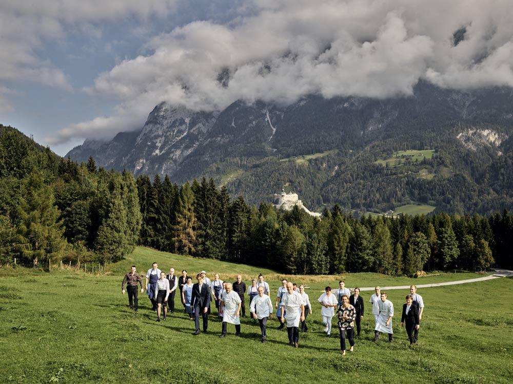 Austria, Austrian fine dining, Obauer, Do Re Mi, SOund of Music, Werfen