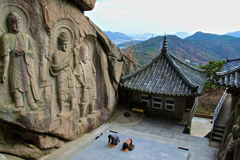 Seokbulsa Temples, South Korea, Busan, Asian temples, Korean temples