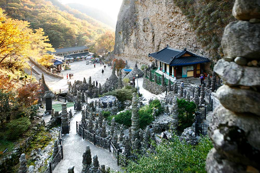 Tapsa Temple, South Korea, Korean temples