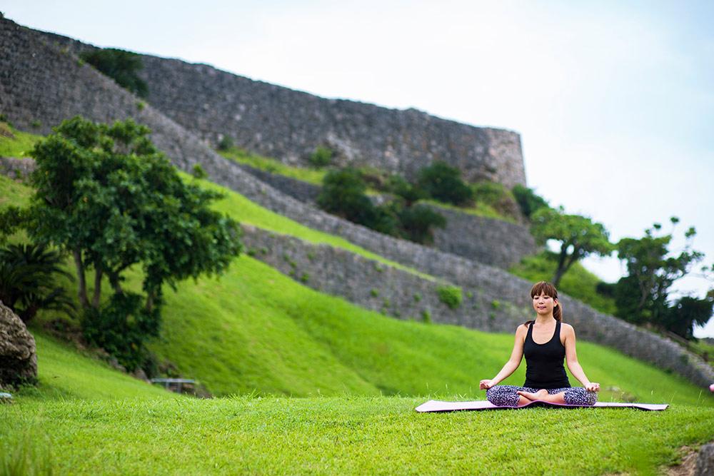 Okinawa, Japan, Katsuren Castle
