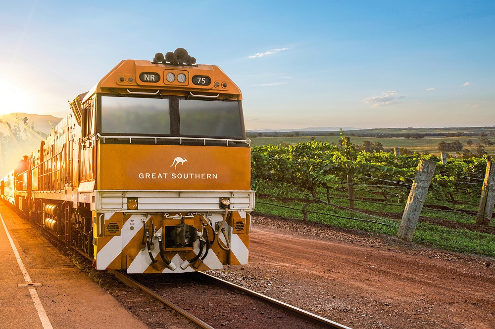 Great Southern, Journey Beyond, train journey