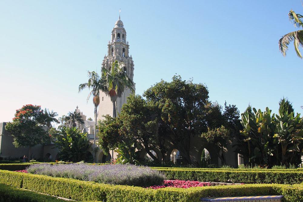 San Diego, Alcazar Garden, Balboa Park