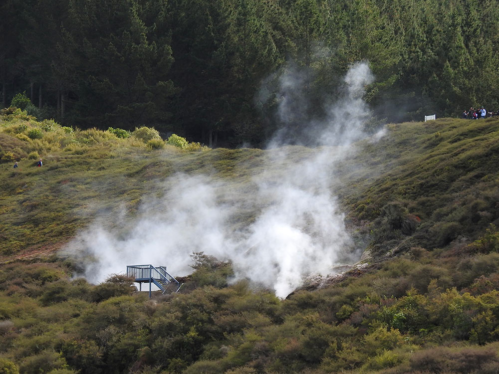 Taupo, New Zealand, Craters of the Moon