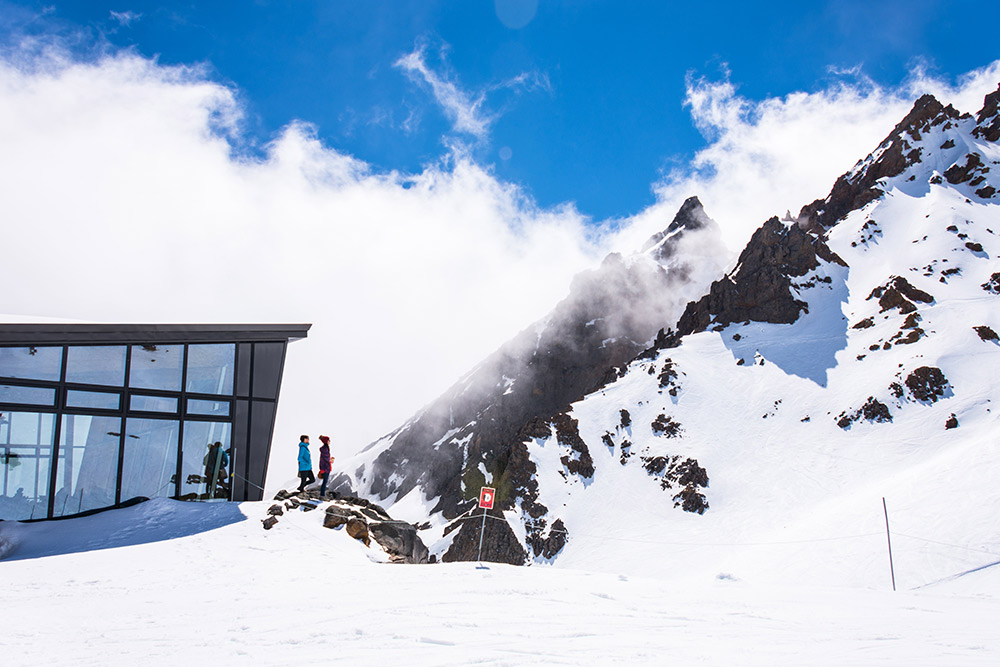 Whakapapa, Mt Ruapehu, skiing, New Zealand