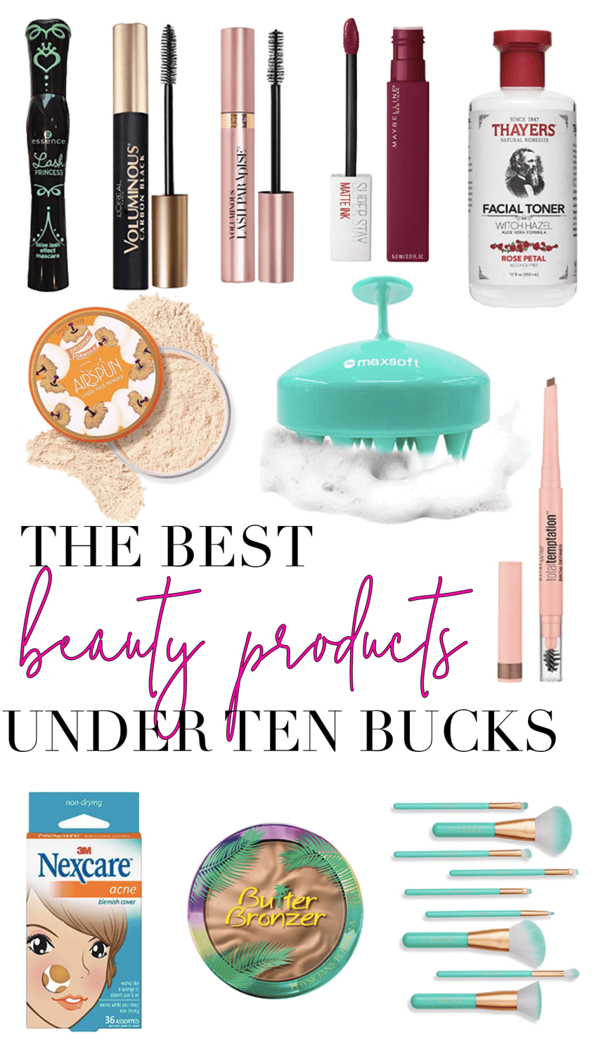 best beauty products under $10