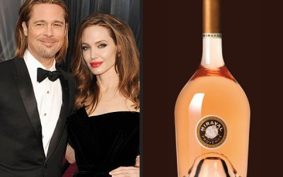 Celebrities who owns wineries – Brad Pit and Angelina Jolie