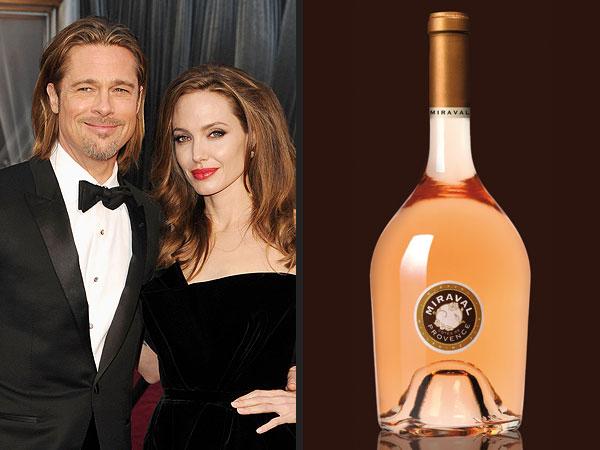 Brad Pitt and Angelina Jolie Wine