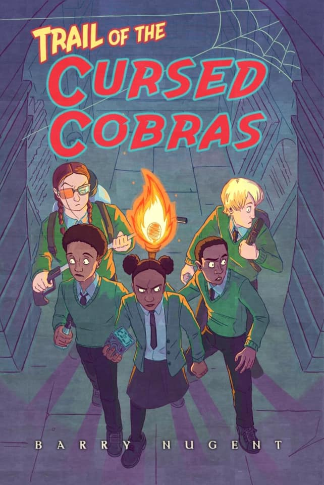 Cover image: Trail of the Cursed Cobras