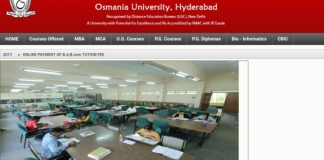 OU Distance Admissions UG,PG Courses at @oucde.net