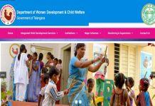Telangana Anganwadi Teachers and Helpers 5491 Vacancies to be filled Soon