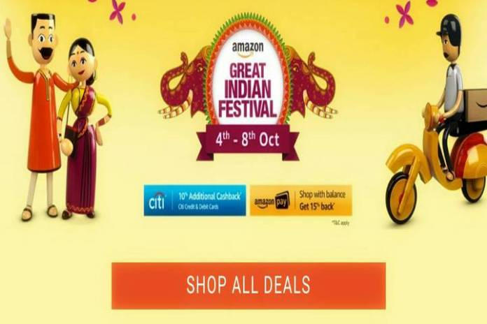 Amazon Great Indian Festival (04th-8th Oct) Live now
