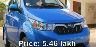 Mahindra Electric Cars KUV100 EV and e2OPlus By 2019