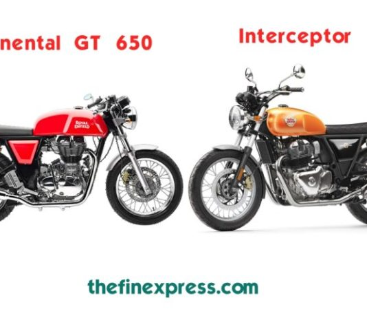 Royal Enfield introduces Interceptor, Continental GT 650