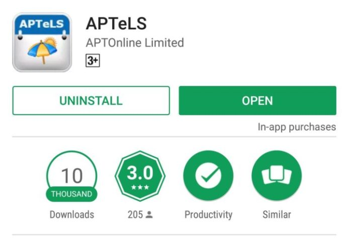 How to Apply Leaves, Types of Duty at APTeLS Newly Launched App