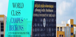 Tamil Nadu Central University 66 Teaching Posts apply @cutn.ac.in
