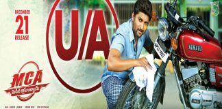 Nani MCA Movie Release On 21st December, Gets U/A Certificate