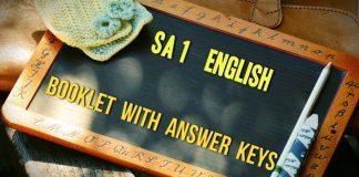 AP SA 1 English Paper Answer Keys released for Summative Exams OMR Sheets