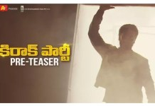 Nikhil Siddharth Kirrak Party Pre Teaser released