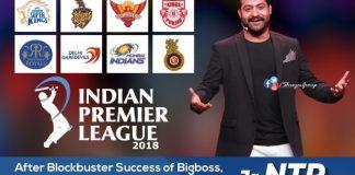 Jr NTR Turns IPL 2018 Telugu Brand Ambassador