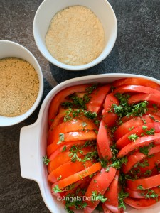 Tomato Gratin Ingredients