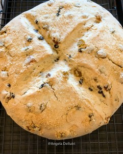 Irish Soda Bread Cooling