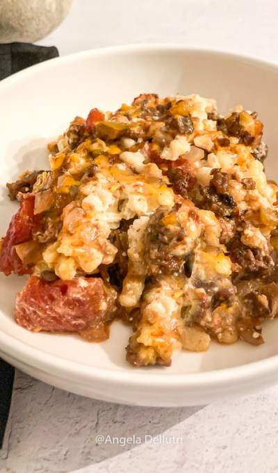 Gourmet Beef Noodle Casserole