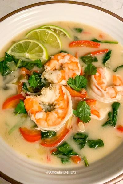 Lemongrass Shrimp Soup