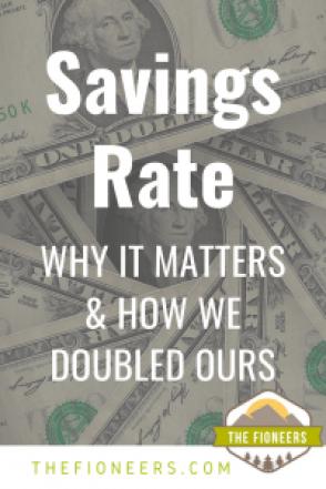 Savings Rate Image